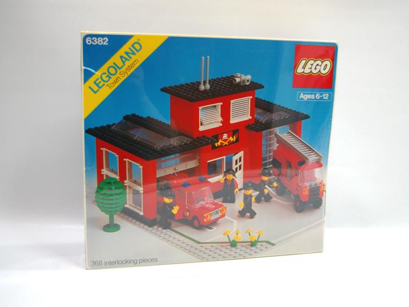 #6382 レゴ 消防署