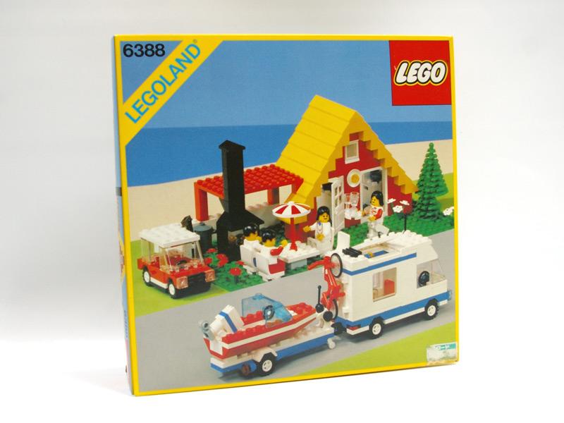 #6388 レゴ コテージとレジャーカー