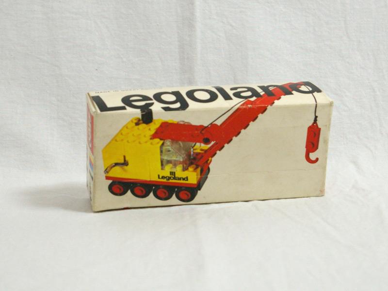 #643 レゴ レゴランドクレーン車