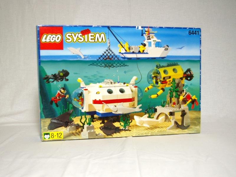 #6441 レゴ サブマリンベース
