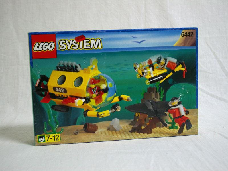 #6442 レゴ  潜水艦とダイバー