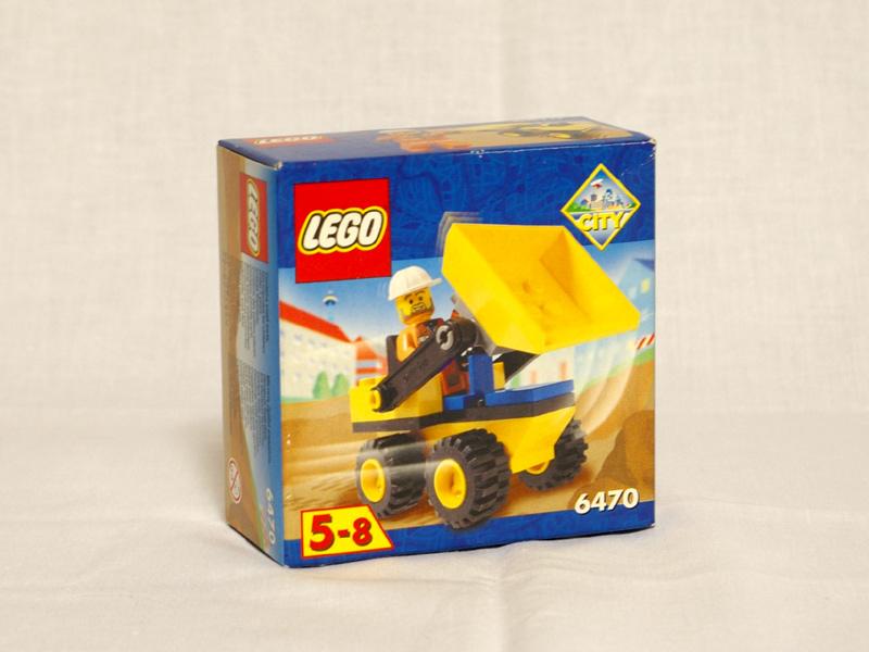 #6470 レゴ 小型ブルドーザー