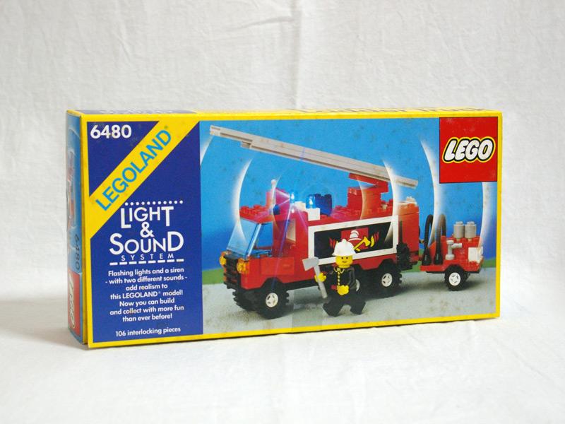 #6480 レゴ 消防車