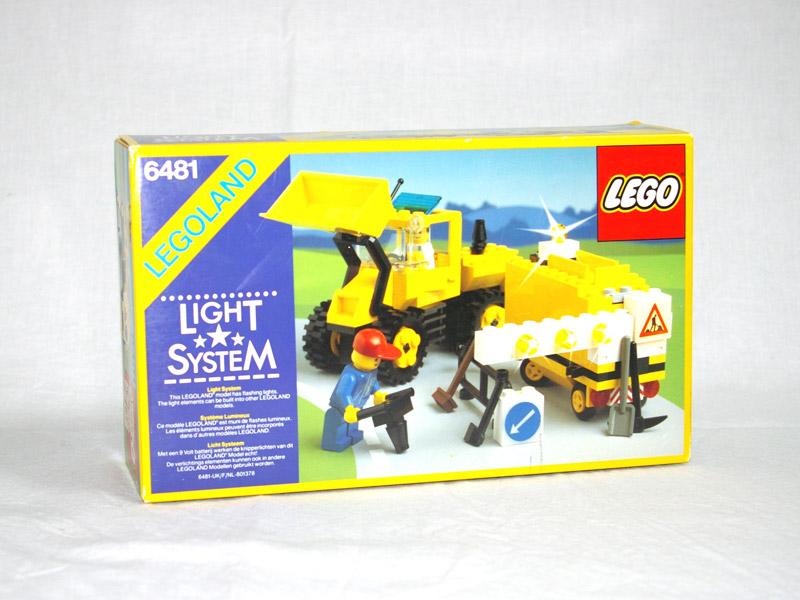 #6481 レゴ ロードトラクター