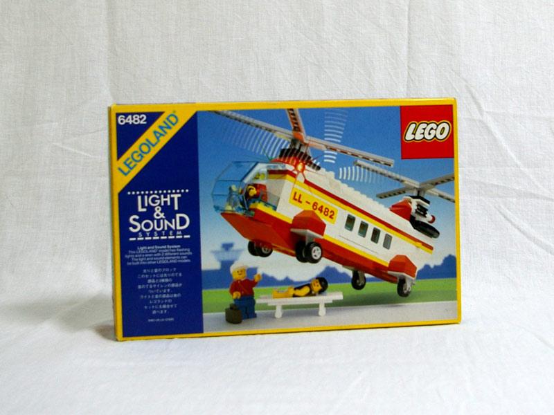 #6482 レゴ レスキューヘリコプター