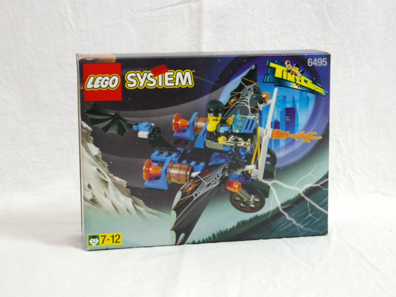 #6495 レゴ クレイジーゴーストプレーン