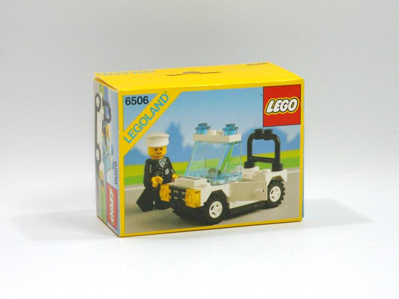 #6506 レゴ ポリスジープ