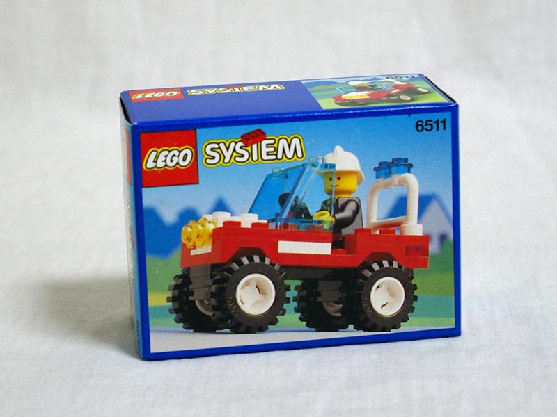 #6511 レゴ 消防バギー