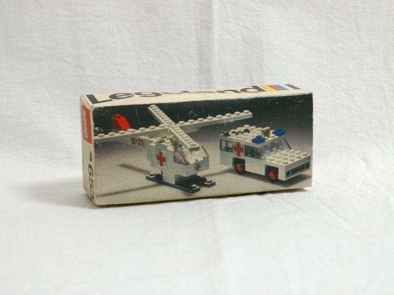 #653 レゴ レゴランド救急車とヘリコプター