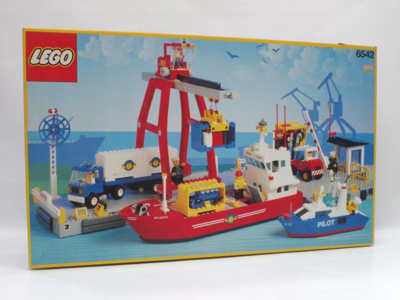 #6542 レゴ ハーバーセット(コンテナ船)