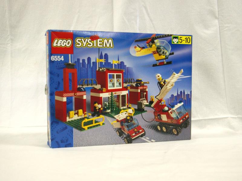 #6554 レゴ 消防署