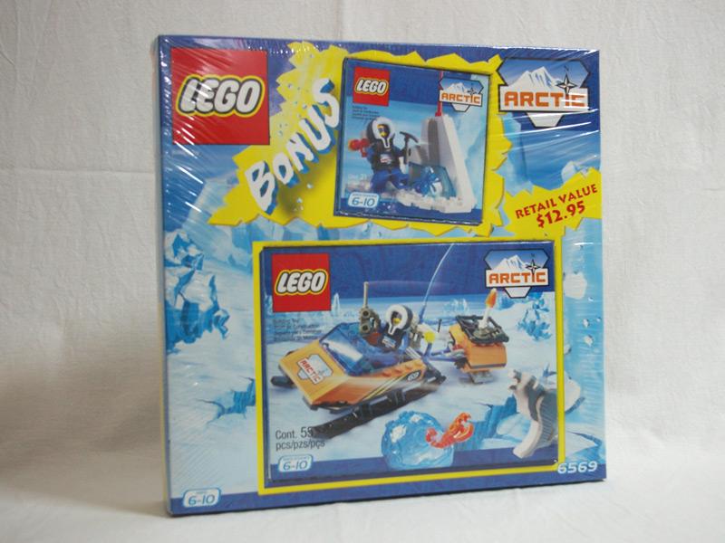 #6569 レゴ 南極探索スノーモービル