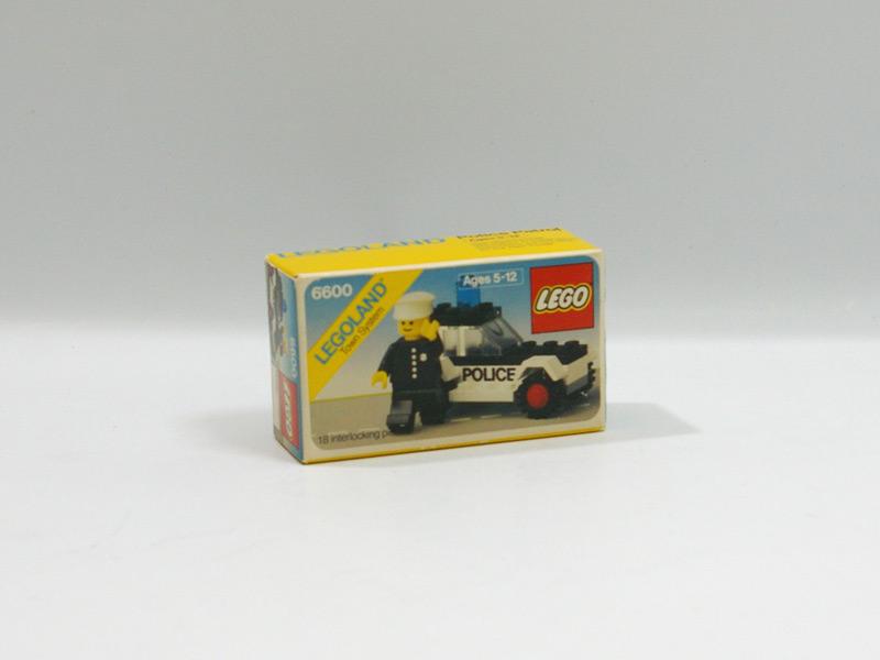 #6600 レゴ パトロールカー