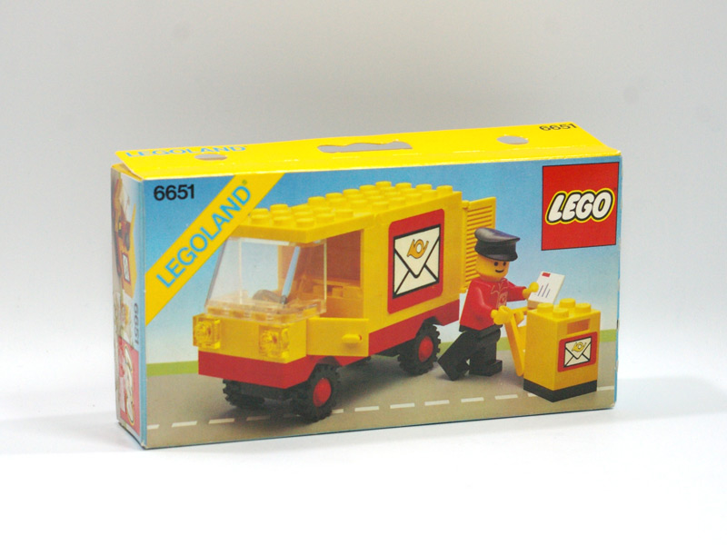 #6651 レゴ 郵便車