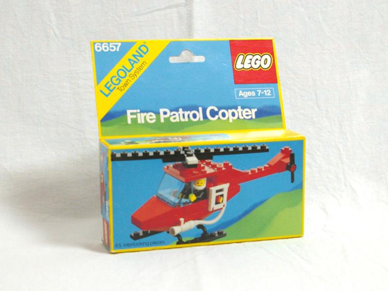 #6657 レゴ 消防ヘリコプター