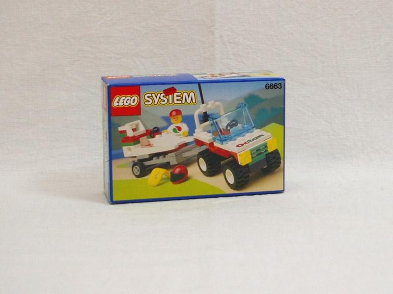 #6663 レゴ レースボートキャリアー