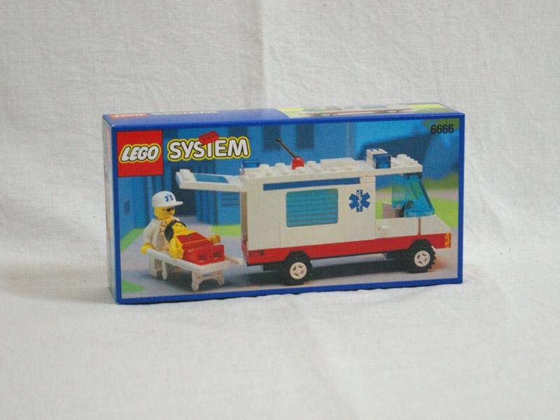 #6666 レゴ 救急車