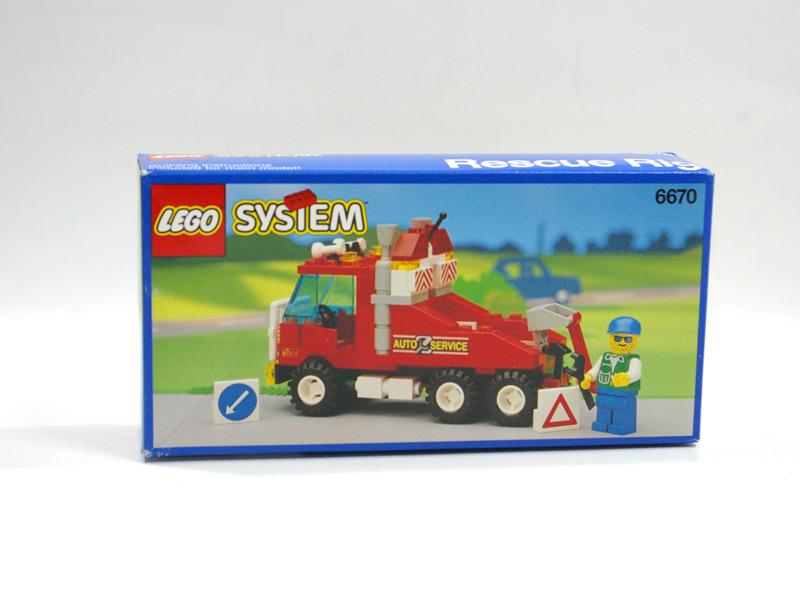 #6670 レゴ レッカー車