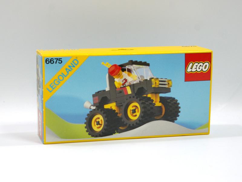 #6675 レゴ 4WDピックアップ