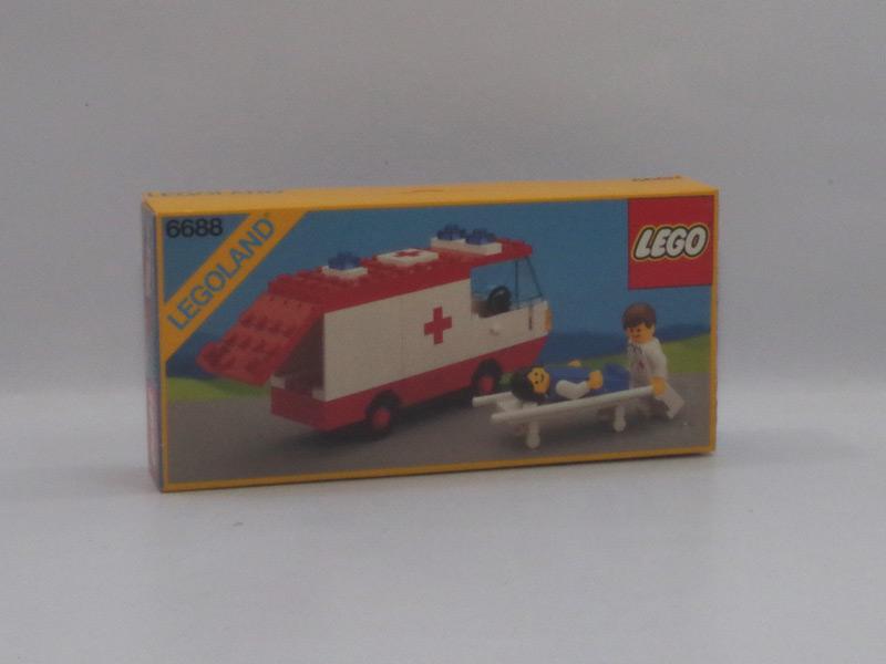 #6688 レゴ 救急車