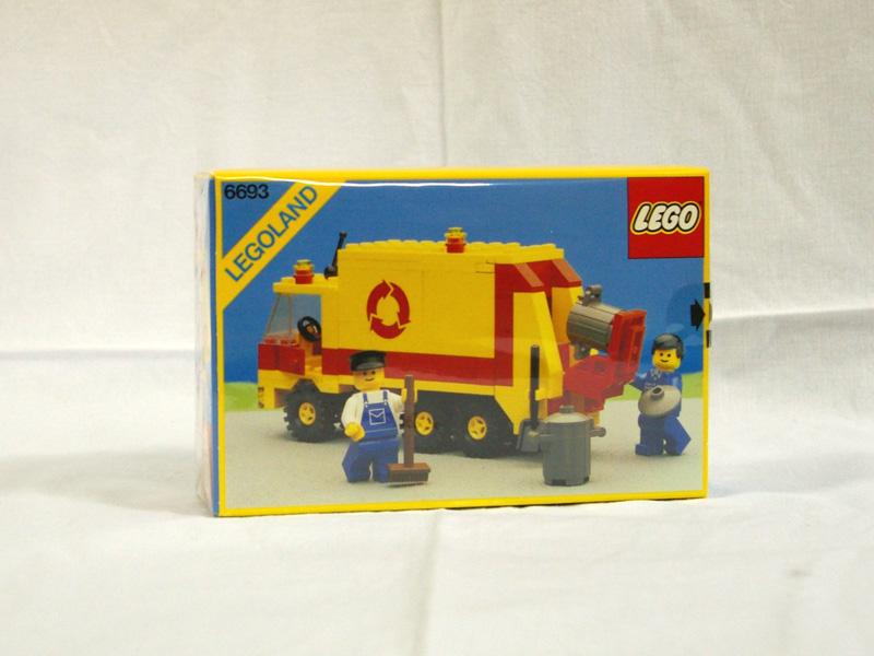 #6693 レゴ 清掃車
