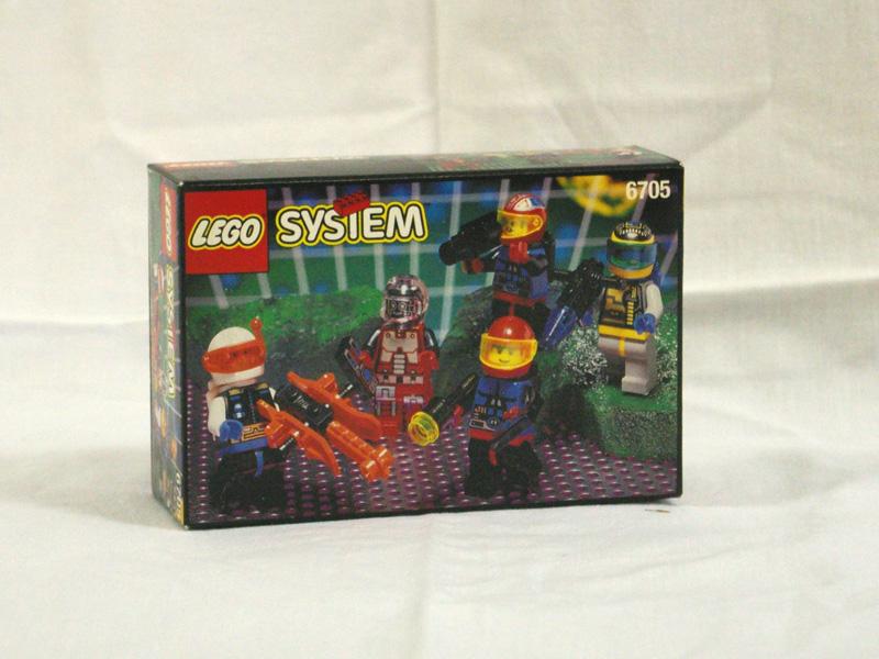#6705 レゴ 人形セット