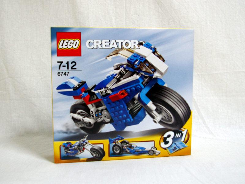 #6747 レゴ レースライダー