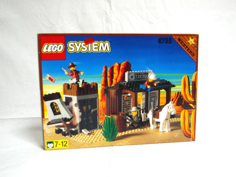 #6755 レゴ 保安官ビリー