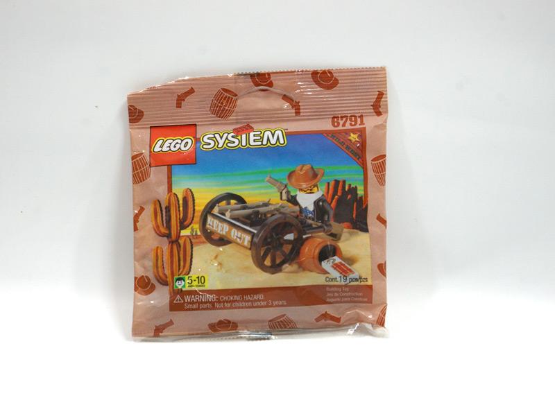 #6791 レゴ 強盗と銃