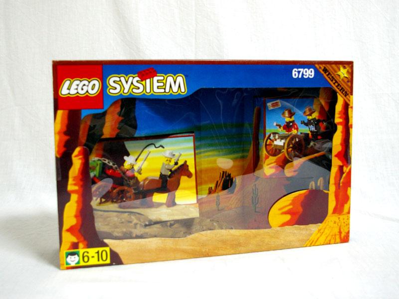 #6799 レゴ 渓谷の対決.