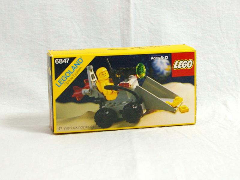 #6847 レゴ 地層検査車