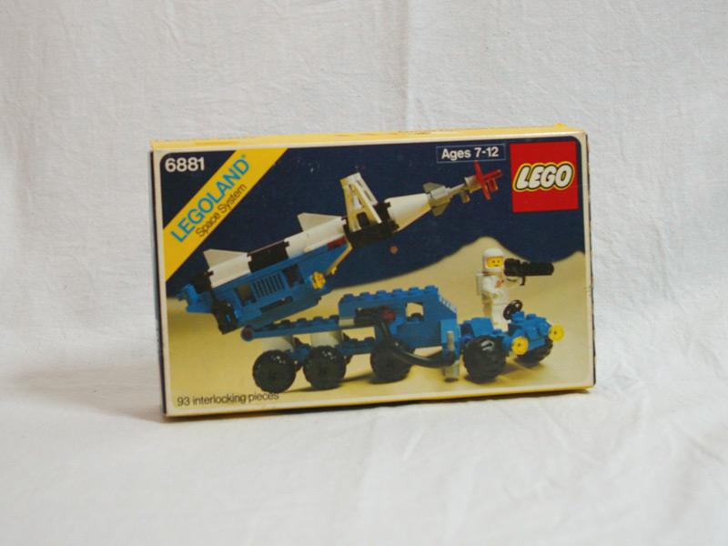 #6881 レゴ ロケット発射機