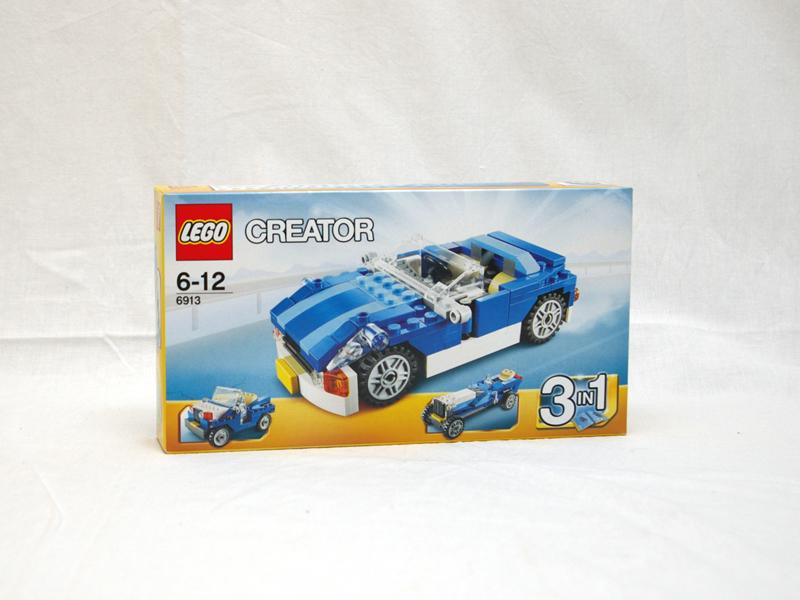#6913 レゴ ブルーロードスター