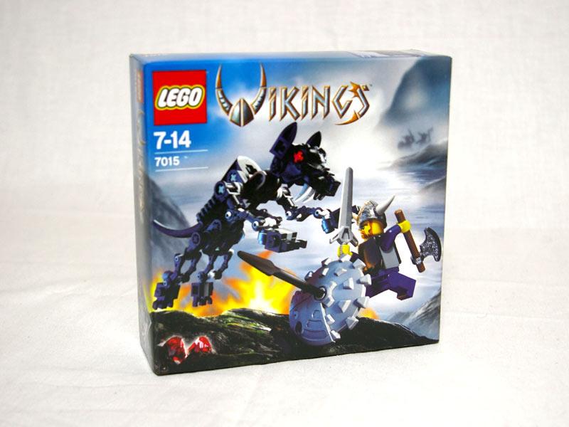 #7015 レゴ バイキングとウルフの戦い
