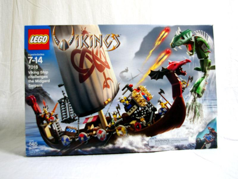 #7018 レゴ バイキングシップとシーモンスター