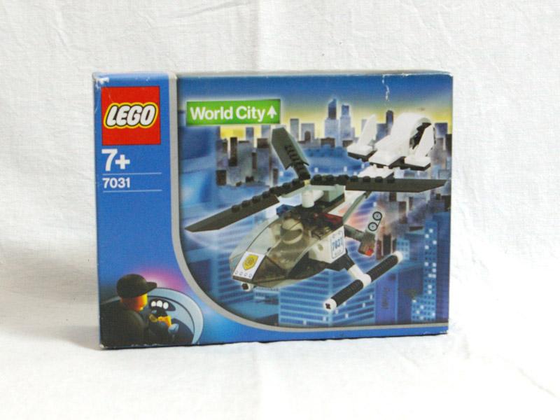 #7031 レゴ ポリスヘリコプター