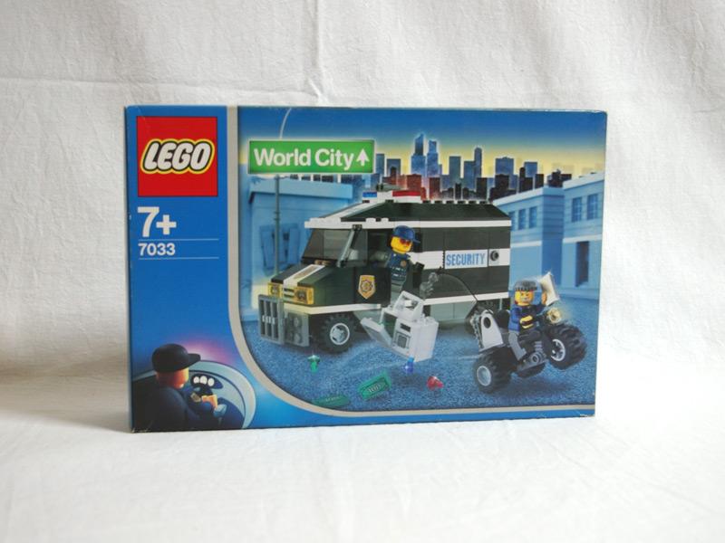 #7033 レゴ 現金輸送車