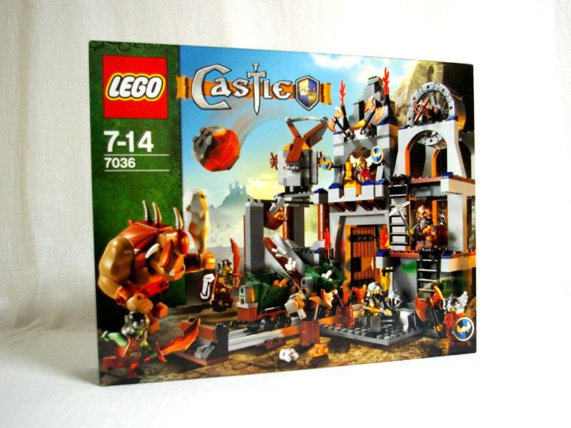 #7036 レゴ ドワーフ戦士のぶき工場