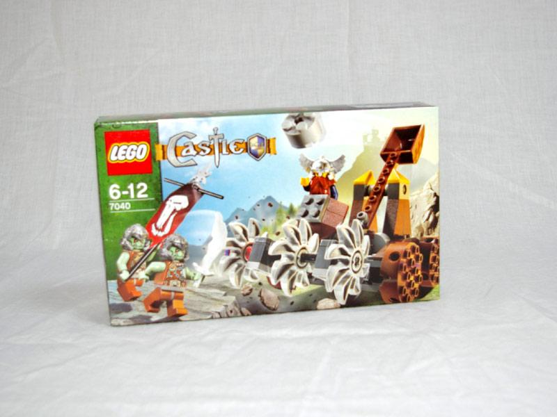 #7040 レゴ ドワーフ戦士vsしにがみウォリアーズ