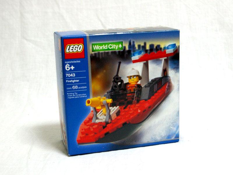 #7043 レゴ 消防ボート