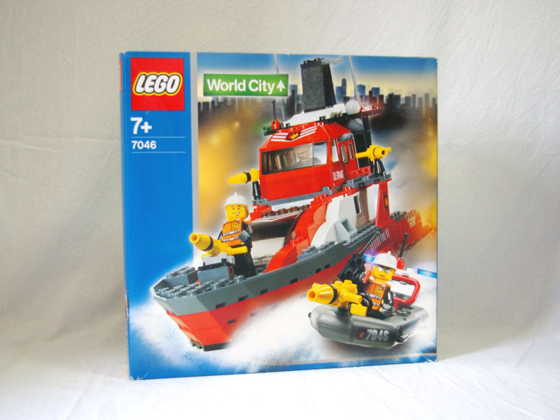 #7046 レゴ 消防指令船