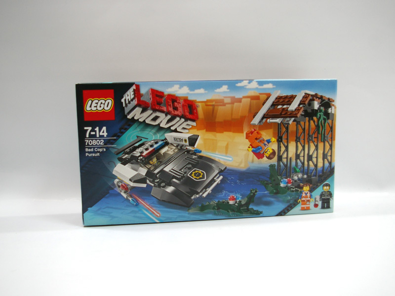 #70802 レゴ バッド・コップの追跡