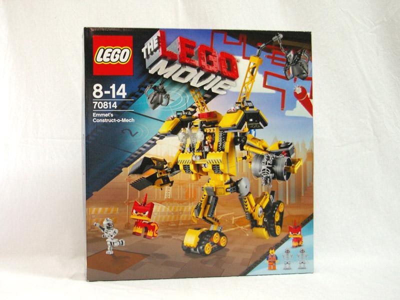 #70814 レゴ エメットの建築メカ