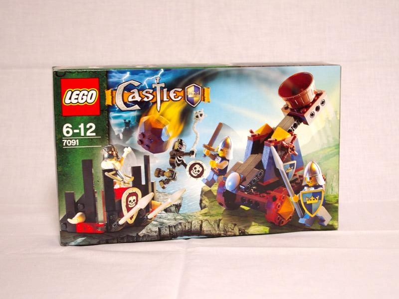 #7091 レゴ カタパルトディフェンス