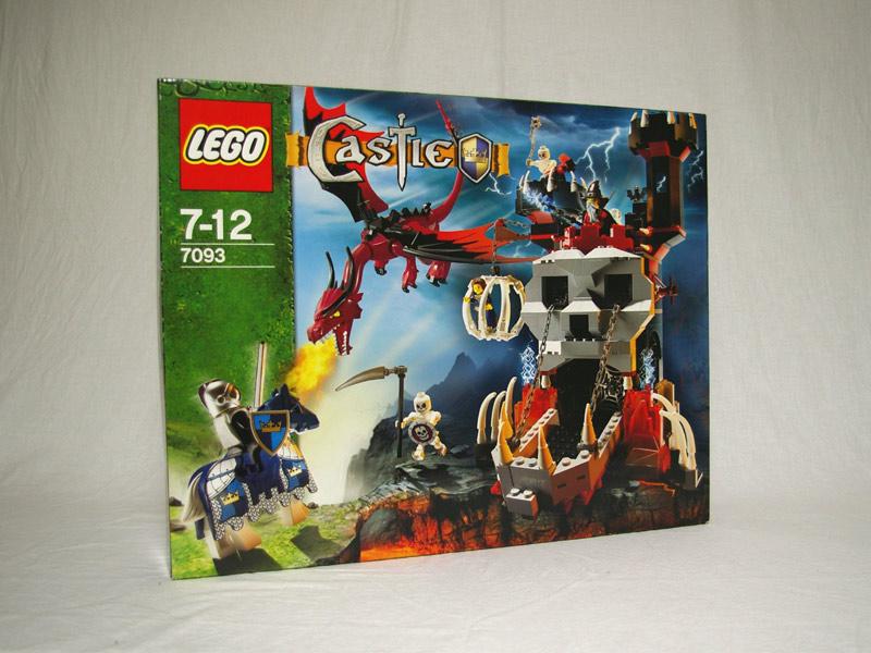 #7093 レゴ ガイコツの塔