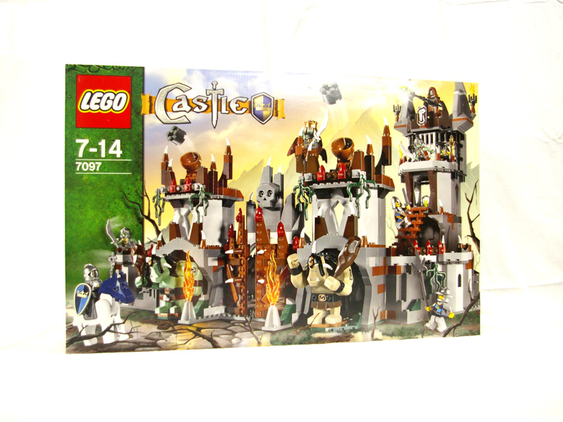 #7097 レゴ しにがみ大王の城