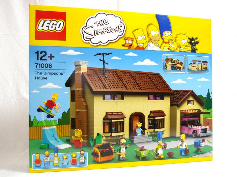 #71006 レゴ シンプソンズハウス