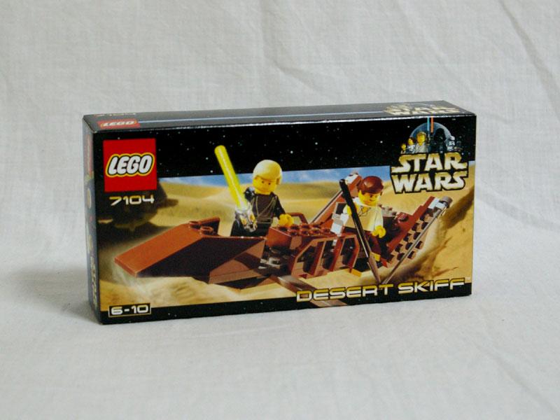 #7104 レゴ デザート・スキッフ