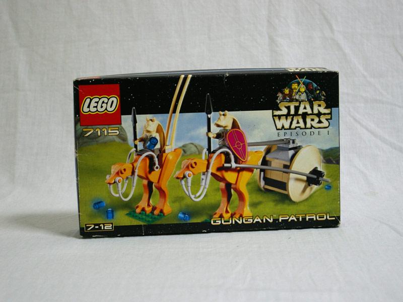 #7115 レゴ グンガンパトロール