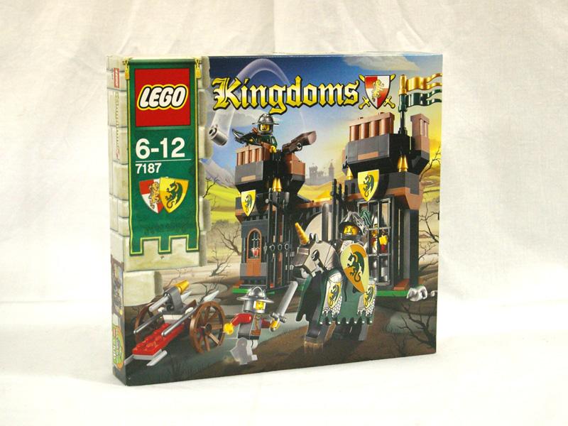 #7187 レゴ ドラゴンの監ごくからの脱出